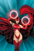 Scarlet Witch Loves Wolverine Part 3 Comic Art